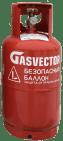 Баллон газовый безопасный 12л с БЗУ SRG GV 457 OPD